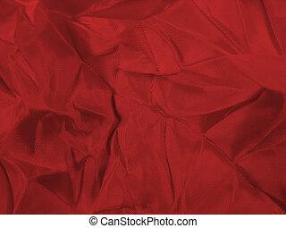 têxtil, vermelho