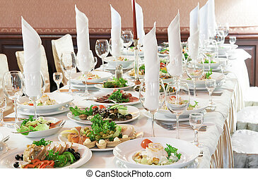 tabela, close-up, jogo, catering