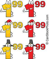 tag, jogo, preço, cobrança, 4, números