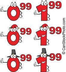 tag, jogo, preço, cobrança, 6, números