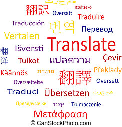 tag, translate., bubble:, fala, ou, nuvem