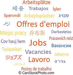 tag, vacancies., bubble:, fala, ou, nuvem