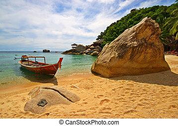 tailandia, férias, cena