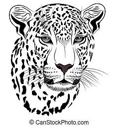 tatuagem, leopardo