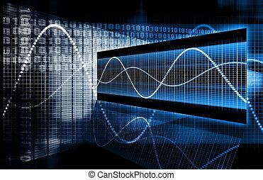 tecnologia, multimedia, dados