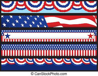 teia, bandeiras, eleição
