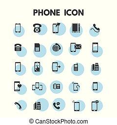 telefone, jogo, ícones