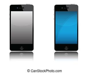 telefone pilha, modernos