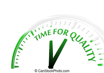 tempo, qualidade