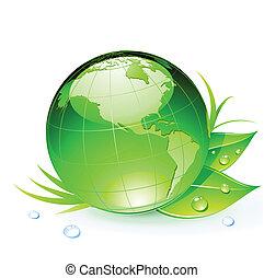 terra planeta, verde