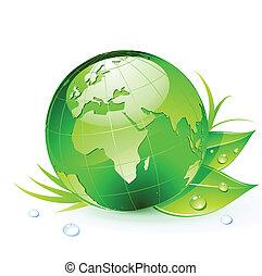 terra, verde