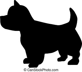 terrier altiplano ocidental, ícone