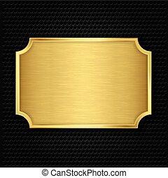 textura, ouro, vetorial, illustra, prato