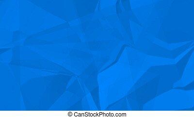 textura, papel, amarrotado, experiência azul, abstratos