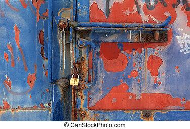 texturas, trem vagão, antigas