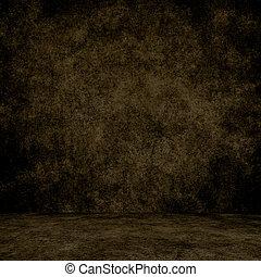 texture., parede, grunge, interior, projetado, chão, fundo