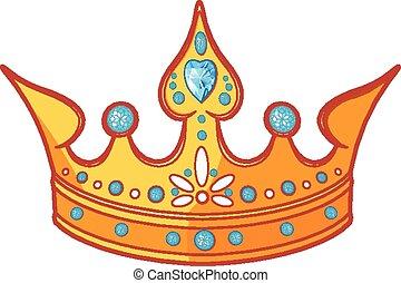 tiara, princesa