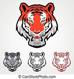 tiger, ícones