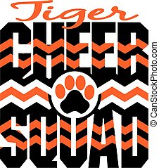 tiger, alegria, esquadra