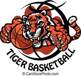 tiger, basquetebol