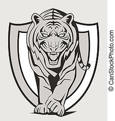 tiger, emblema