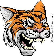 tiger, esportes, mascote