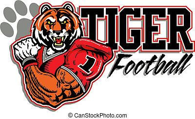 tiger, futebol, desenho