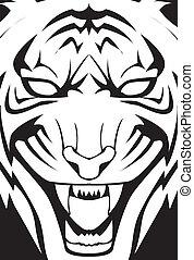 tiger, ilustração