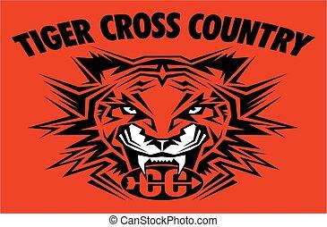 tiger, país, crucifixos