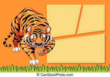 tiger, quadro