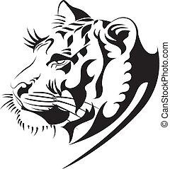 tiger, vector2