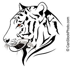 tiger, vetorial