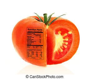 tomate, fatos, nutrição