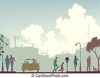 toned, rua