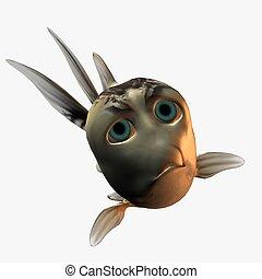 toon, peixe