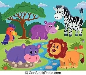 topic, imagem, 2, animais