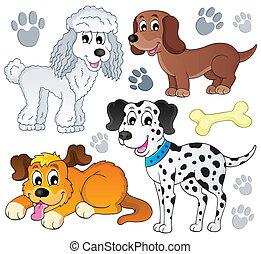 topic, imagem, cão, 3