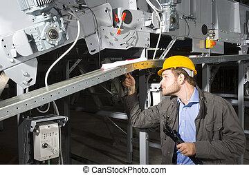 trabalho, engenheiro manutenção