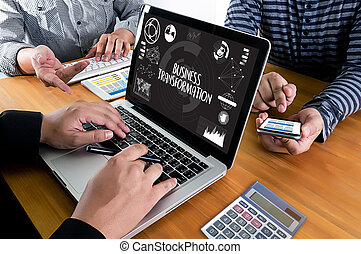 transformação, aproximadamente, olá-tecnologia, tecnológico, digital, marketing, negócio