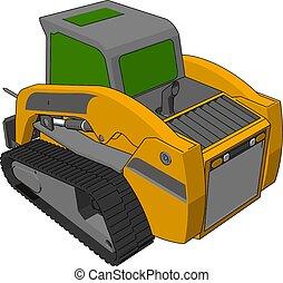 transporte, fardo, ilustração, vetorial, fundo, veículo, branca