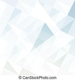 triangles., abstratos, fundo, vector.