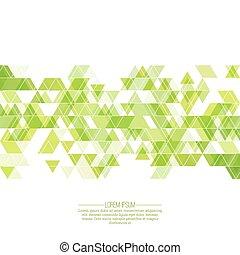 triangulo, criativo, pattern., abstratos