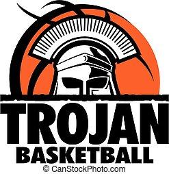 trojan, basquetebol