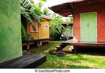 tropicais, recurso, estilo