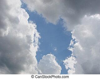trough, hope., luz, valor, brilhar, vida, simbólico, dá