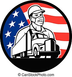 truck-driver-wearing-mask-semi-usa-flag-circ-retro