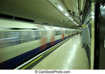 tubo, trem