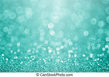 turquesa, brilhar, brilho, teal, fundo, verde