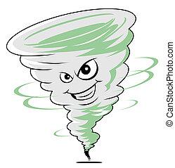 twister, caricatura