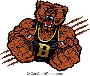 urso, mascote